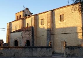Iglesia de la Virgen del Rosario en Fuenterrebollo