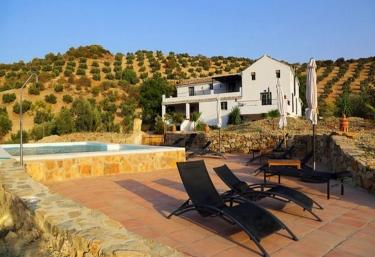 Casas rurales con piscina en iznajar for Casas rurales con piscina en alquiler