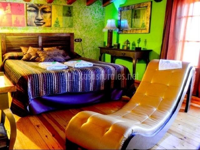 Habitación de matrimonio con diván