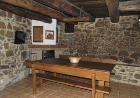 Casa rural de estilo rústico