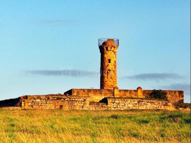 Zona del castillo con ruinas