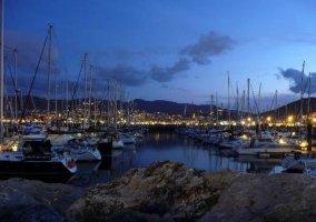Zona del puerto de Getxo
