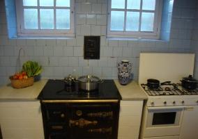 Cocina inducción y gas