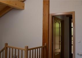 Escaleras al segundo piso