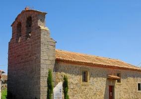 Sanchorreja, Iglesia