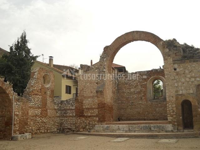 Plaza del Arcipreste en el pueblo de Hita