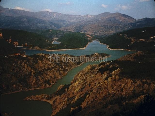 Río Jarama en la Sierra Norte de Guadalajara
