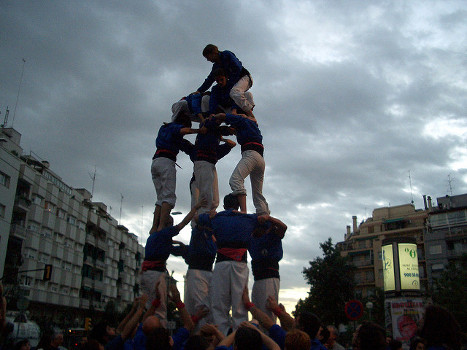 Fiestas en Cataluña