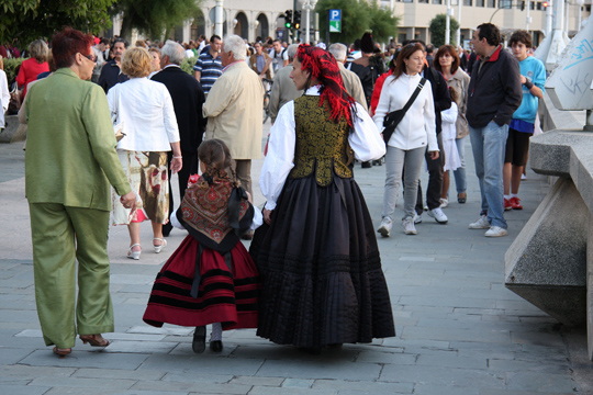 Fiestas en A Coruña