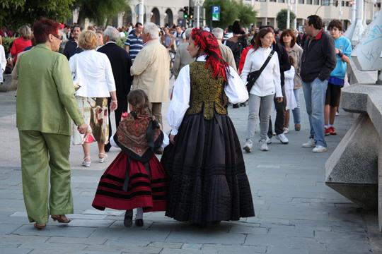 Festivities in A Coruña