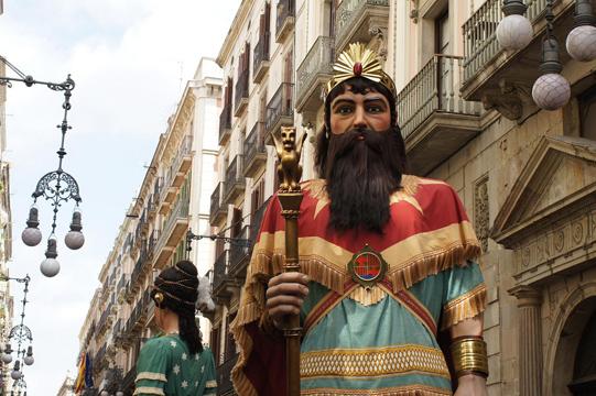 Festivities in Barcelona