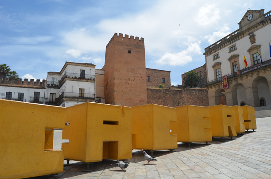 Where to sleep in Caceres