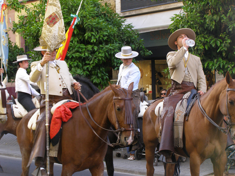 Festivities in Cordoba