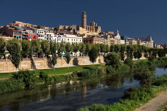 Dónde dormir en Lleida