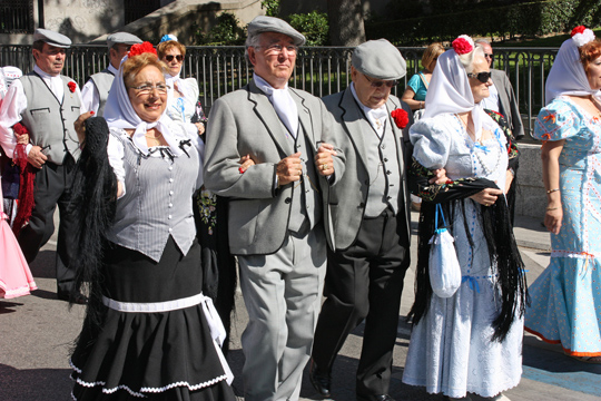Festivities in Madrid
