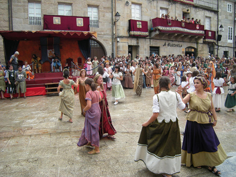 Fiestas en Orense