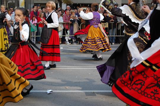 Festivities in Zaragoza